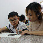 dạy bé học vẽ