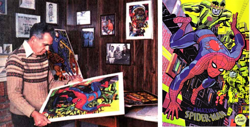 họa sĩ Jack Kirby