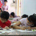 lớp học vẽ cho bé 1