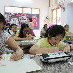 lớp học vẽ cho bé 2