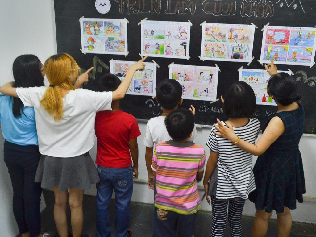 Lớp học vẽ Manga 1