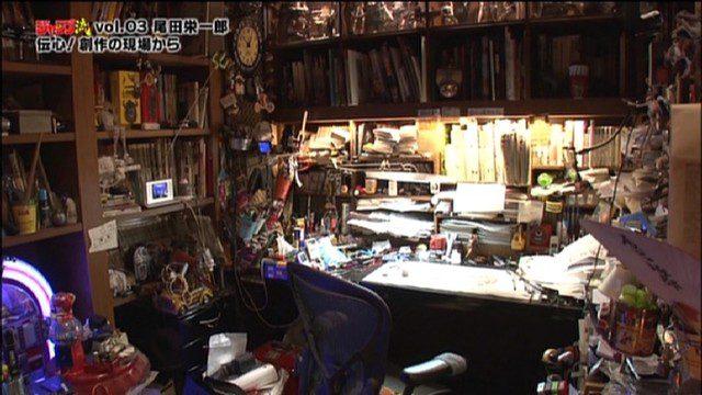 nơi làm việc của họa sĩ Oda