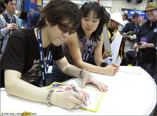 tác giả truyện tranh Hiro Mashima