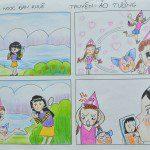 Tác phẩm truyện tranh của Đan Khuê