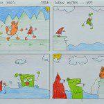 Tác phẩm truyện tranh của Hui Ying