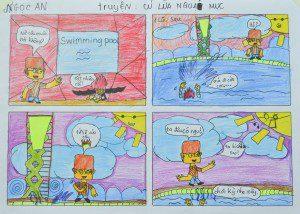 Tác phẩm truyện tranh của Ngọc An