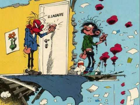 truyện tranh Gaston Lagaffe