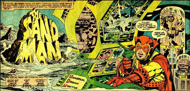 truyện tranh của Jack Kirby