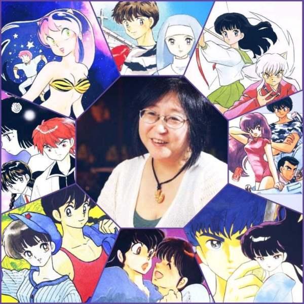 Rumiko mangaka nổi tiếng của Nhật Bản