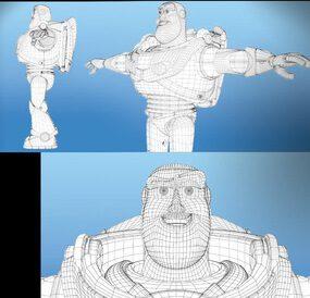 chức năng của công nghệ trong làm phim hoạt hình Pixar 1