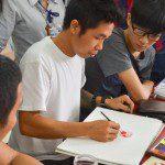 học vẽ màu nước