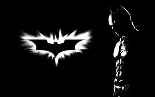 logo truyền thống của batman 1