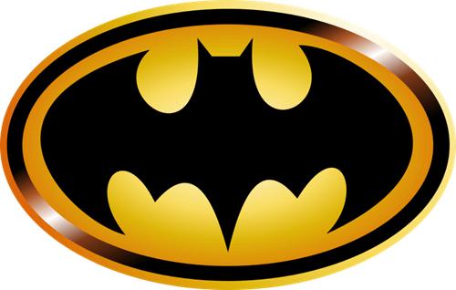 logo truyền thống của batman