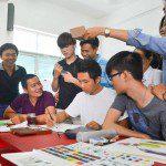 lớp vẽ truyện tranh thầy Hồ Hưng