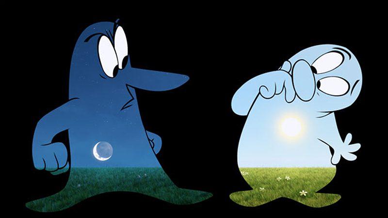 Nhân vật hoạt hình Day and Night