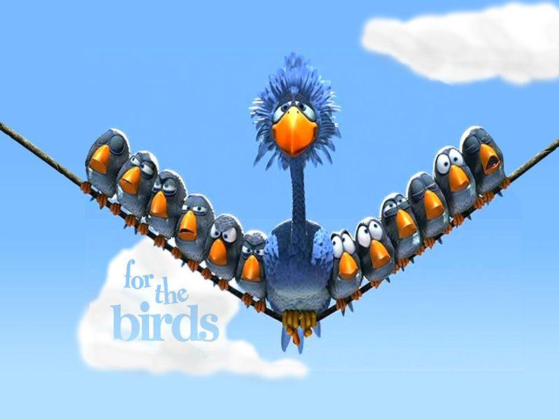 Nhân vật hoạt hình The Biggest Bird
