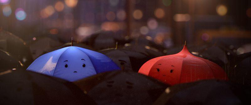 Nhân vật hoạt hình The Blue Umbrella