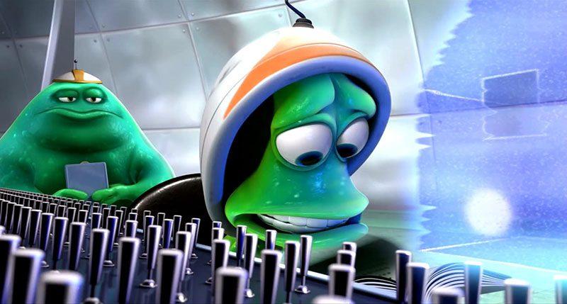 nhân vật hoạt hình Young Alien