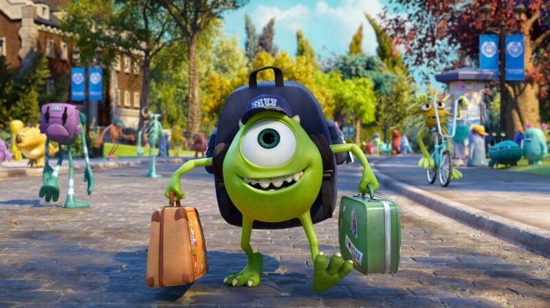 phim hoạt hình Pixar ước mơ Monster Inc