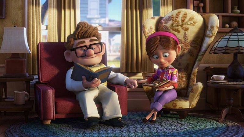 phim hoạt hình Up Pixar