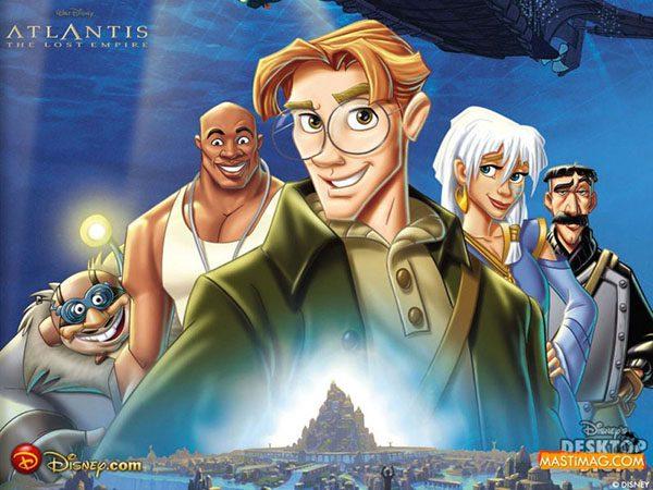 Phim hoạt hình Atlantis: The Lost Empire