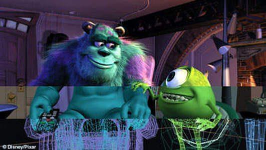phim hoạt hình ba chiều Monster Inc Pixar 1
