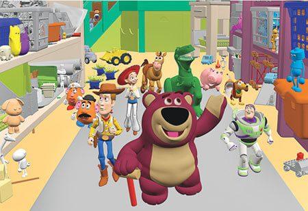 phim hoạt hình ba chiều Toy Story Pixar