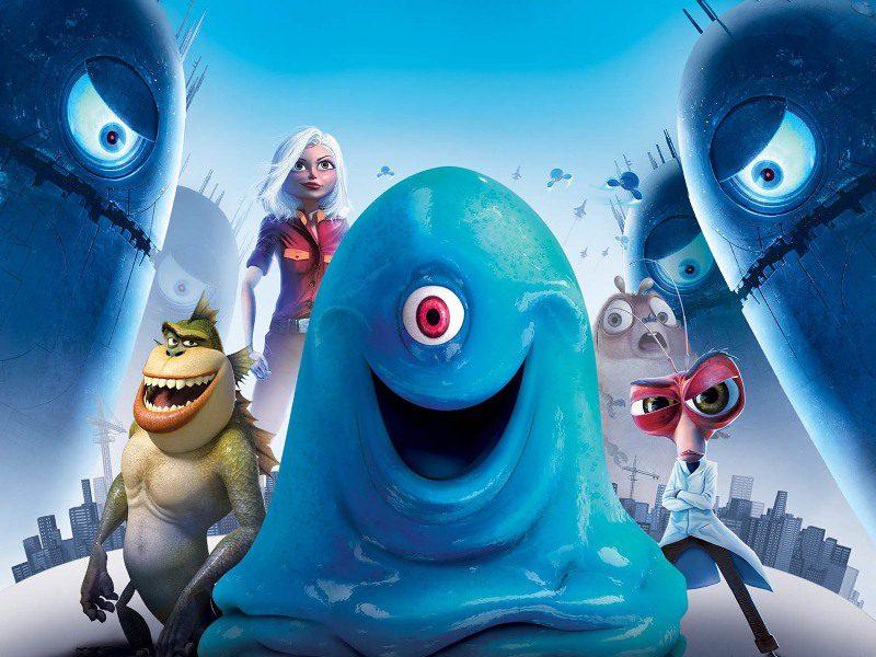 Phim hoạt hình Monsters vs Aliens