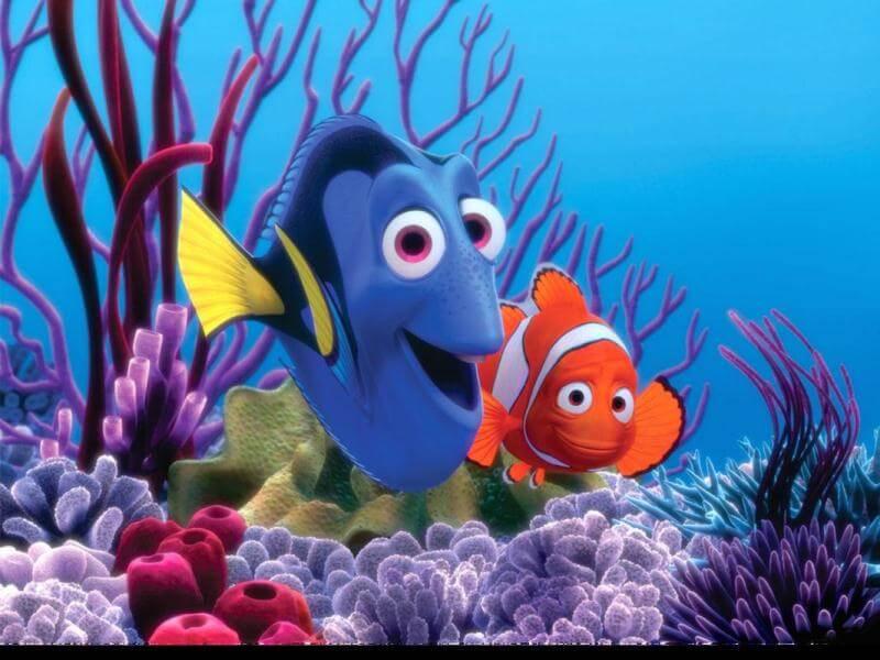 phim hoạt hình Pixar tình yêu Finding Nemo