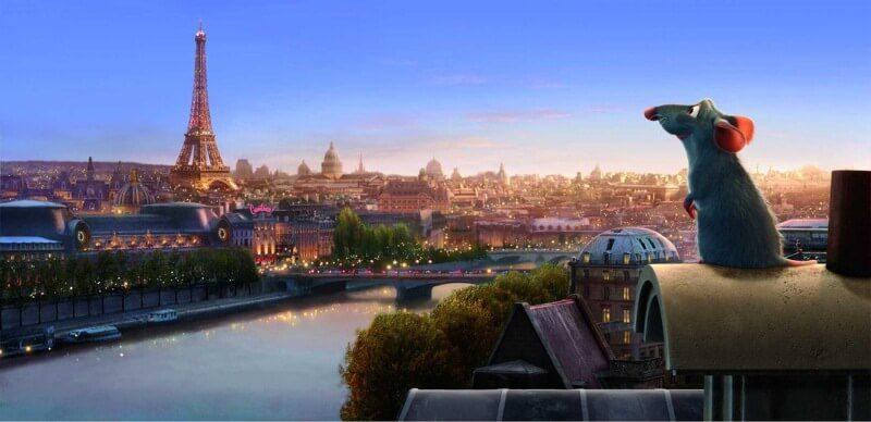 phim hoạt hình Pixar ước mơ Ratatouille