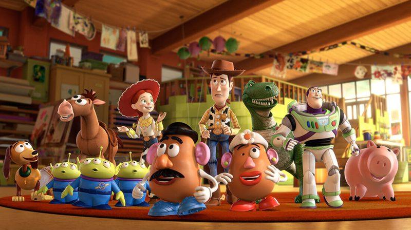 phim hoạt hình Toy Story Pixar