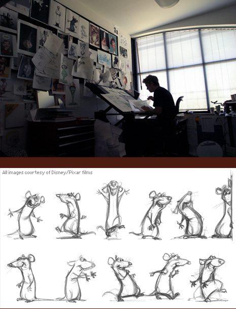 thiết kế nhân vật hoạt hình của Pixar 1