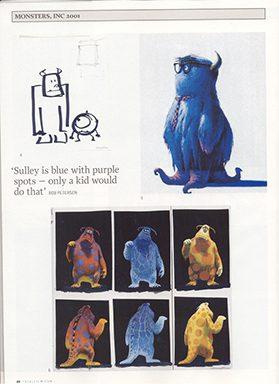 thiết kế nhân vật hoạt hình Pixar 3