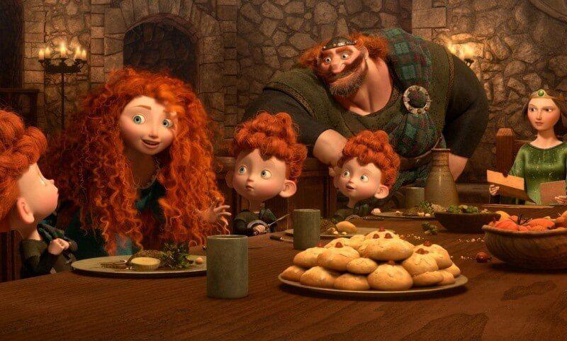 bài học từ phim hoạt hình của Pixar Brave