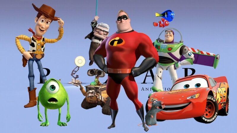 bài học từ phim hoạt hình của Pixar