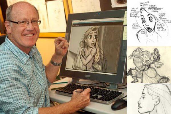 hậu trường hoạt hình họa sĩ diễn xuất animator