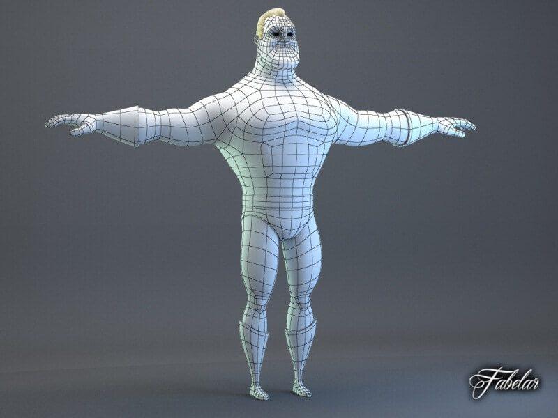 hậu trường hoạt hình họa sĩ dựng hình 3D incredibles