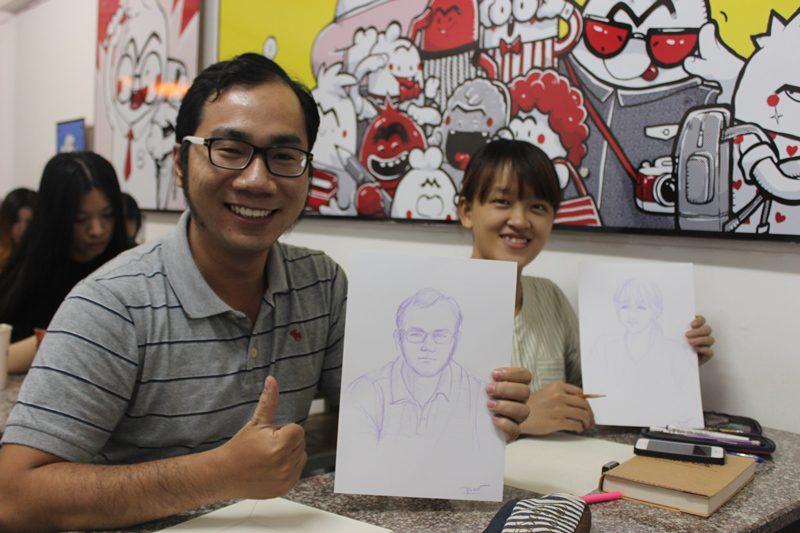 học vẽ truyện tranh 1