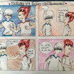 lớp học vẽ truyện tranh Châu Ngọc Phương Anh