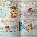 lớp học vẽ truyện tranh Đỗ Hoàng Chi Mai