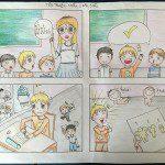 lớp học vẽ truyện tranh Nguyễn Lam Linh