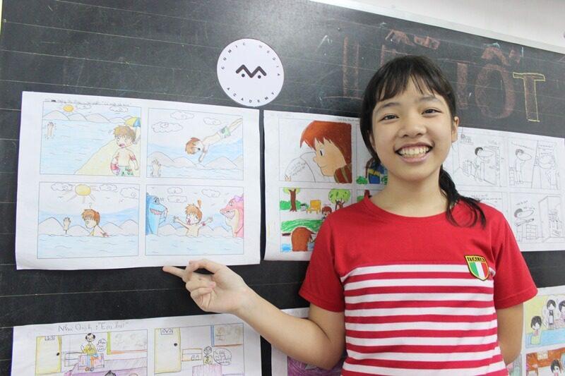 lớp học vẽ truyện tranh ở TPHCM 1
