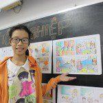 tổng kết lớp học vẽ truyện tranh tại TPHCM 4