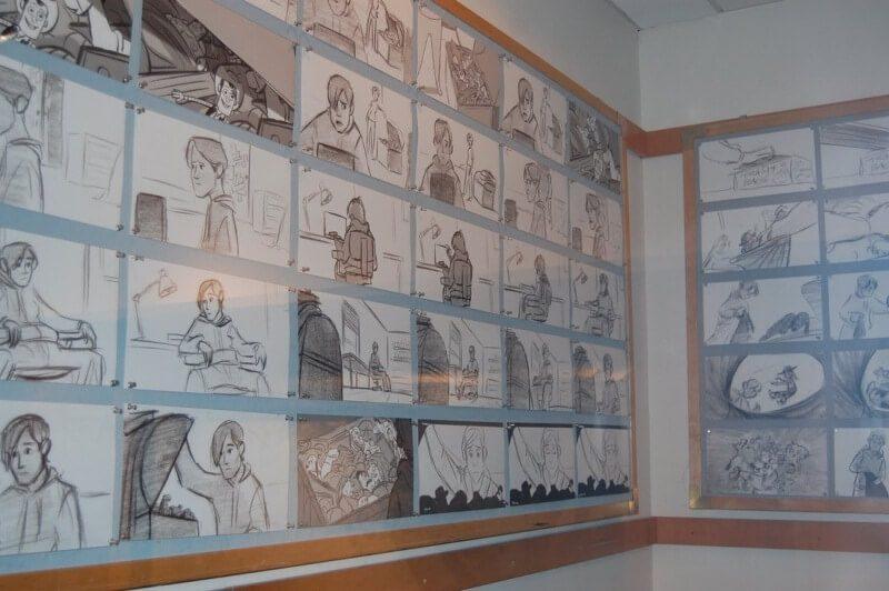 storyboard phim hoạt hình Toy Story