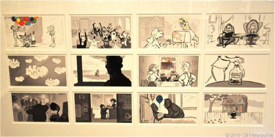 storyboard phim hoạt hình Up 4