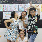 tổng kết lớp học vẽ truyện tranh tại TPHCM