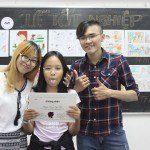 tổng kết lớp học vẽ truyện tranh tại TPHCM 6