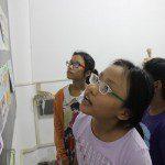 triển lãm cuối khóa lớp học vẽ truyện tranh cho bé 6