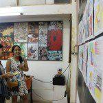 triển lãm cuối khóa lớp học vẽ truyện tranh cho bé 8