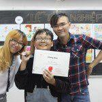 triển lãm cuối khóa lớp học vẽ truyện tranh cho bé ở TPHCM 1